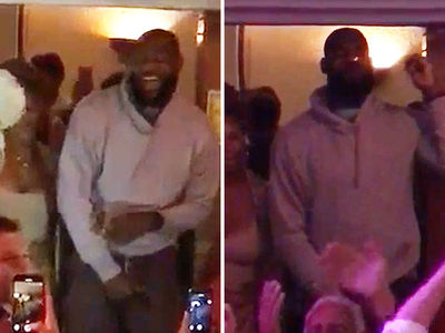LeBron James Rocks Out to 'I Will Survive,' Smokes Victory Cigar