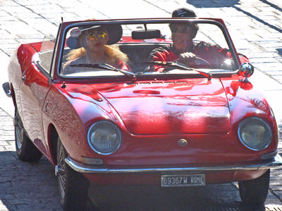 Jay-Z and Beyonce Cruising in Italy Between Tour Shows