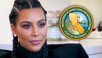 Kim Kardashian Visits Women's Prison to Discuss Release Program