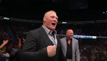 Brock Lesnar Storms Stage After Cormier Knocks Out Miocic at UFC 226