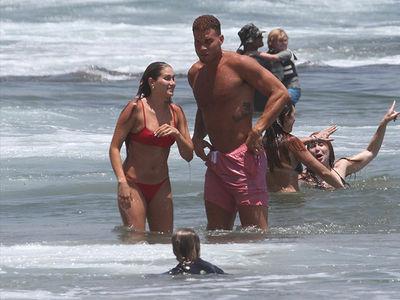 Blake Griffin and Girlfriend Francesca Aiello Hit the Beach in Malibu