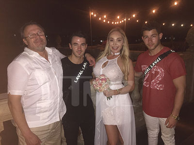 The Jonas Brothers Crash Ex-Porn Star Mary Carey's Wedding