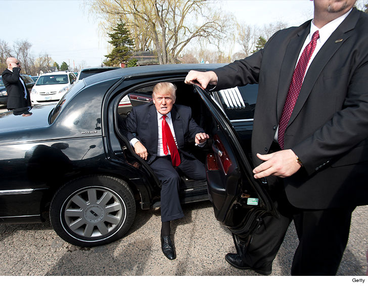 Donald Trump's Personal Driver Sues for a Ton of Overtime Pay