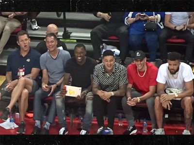 Lakers Stars Bro Out at Summer League Game, Minus LeBron