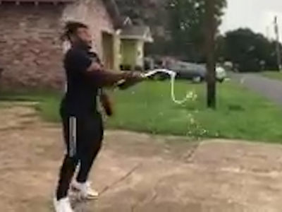 NFL's Derrius Guice Surprises Mom, Here's Your New Car!!!!