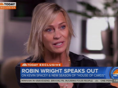 Robin Wright says Kevin Spacey was a Stranger Outside of 'House of Cards'