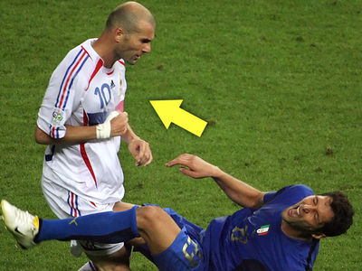 French Midfielder Zinedine Zidane 'Memba Him?!