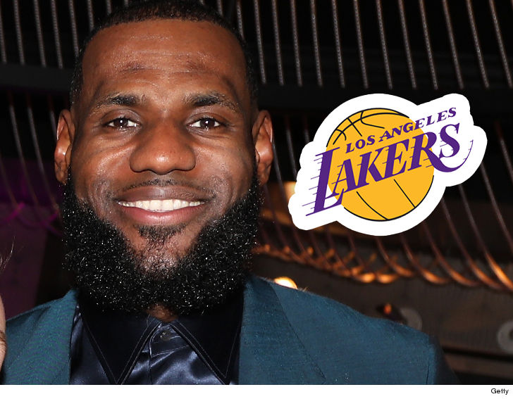 409d69dc82790 LeBron James isn t going anywhere but L.A. now -- the King has officially  signed his contract with the Los Angeles Lakers.
