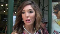 Farrah Abraham Charged with Battery and Resisting in Hotel Arrest