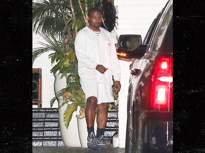 Kanye West Bundled Up in L.A. Amid Crazy Heatwave