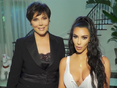 Kim Kardashian West & Kris Jenner Team Up for Charity Poker Fundraiser
