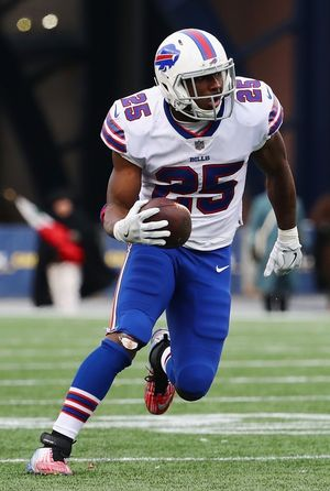 LeSean McCoy on the Field