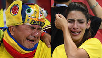 Fans Crying at FIFA World Cup 2018 -- See the Sad Shots