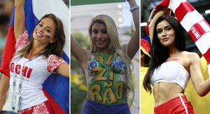 2018 FIFA World Cup -- Hot Fans From Around The World!