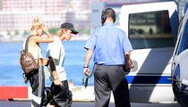 Justin Bieber and Hailey Baldwin Take Helicopter to Meet Her Family
