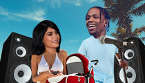 Travis Scott Bonds with Kylie & Stormi in Hawaii Before Starting New Album