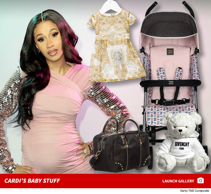 Cardi B S Daughter Kulture Is Rolling In 7k Worth Of