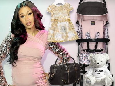 Cardi B's Daughter, Kulture, is Rolling in $7k Worth of Designer Stuff
