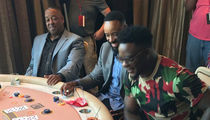 Spud Webb Dominates Blackjack Tourney, Donates $5,000 to Charity