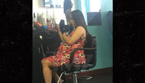 Cardi B Spotted at Hair Salon Day Before Giving Birth to Baby Girl