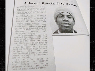 Magic Johnson Predicted His Baller Life Back In 9th Grade!!