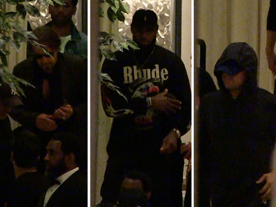 LeBron James Has Power Dinner with Al Pacino and Leo DiCaprio