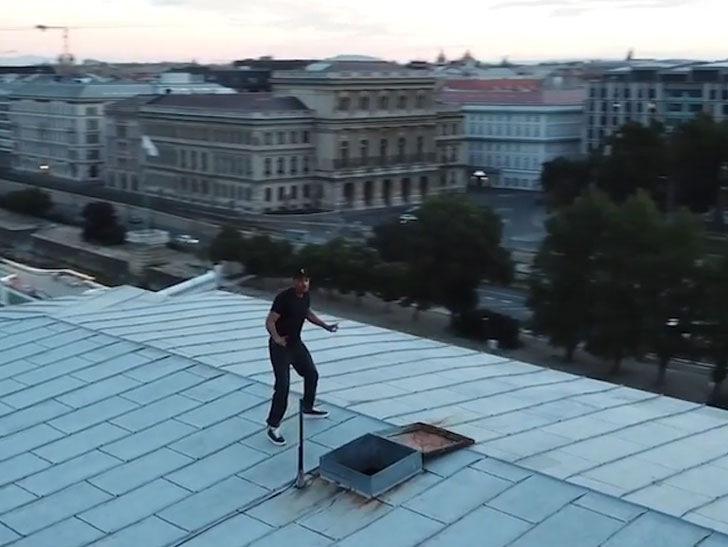 Will Smith Does the 'Shiggy Challenge' in Budapest