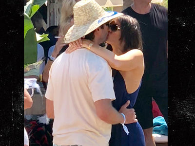 Donald Trump Jr. Kisses Girlfriend Kimberly Guilfoyle On Vacation In France