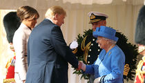 President Trump and First Lady Meet Queen Elizabeth at Windsor Castle