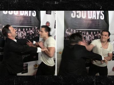 David Arquette Pimp Slapped at Movie Premiere