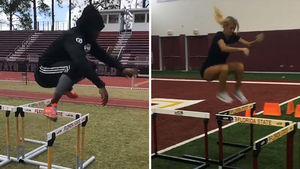 RG3 And His Olympic-Hopeful Wife Crush The Hurdles