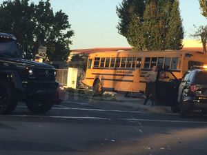 Travis Barker Bus Accident Photos