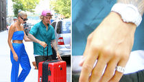 Justin Bieber Wears Hailey Baldwin's Ring