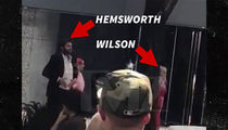 Liam Hemsworth and Rebel Wilson Dance in the Street for Upcoming Movie