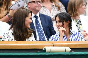 Kate Middleton & Meghan Markle Cheer on Serena Williams