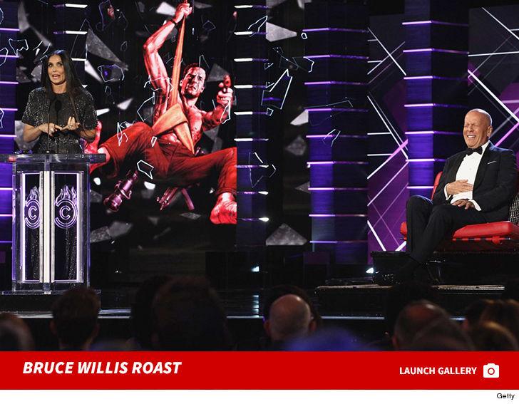 Demi Moore is Surprise Guest for Bruce Willis Roast