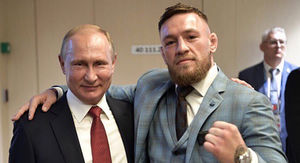 Conor McGregor Watches World Cup Final as Vladimir Putin's Guest