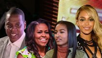 Michelle and Sasha Obama Attend Beyonce and Jay-Z Concert in Paris
