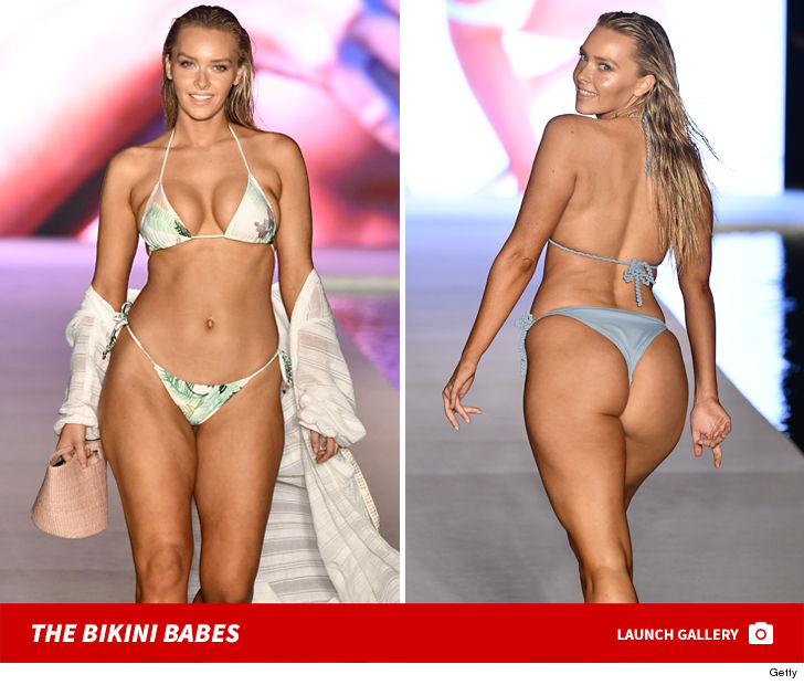 Camille Kostek Swimsuit Model: Rob Gronkowski's GF Camille Kostek Rocks Tiny Bikini In SI