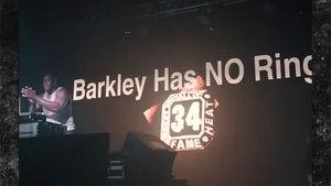 Shaq Starts 'Barkley Sucks' Chant During DJ Gig