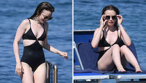 Lily Collins' Vacay In Italy ... Dive Into The Sexy Swimsuit Shots!