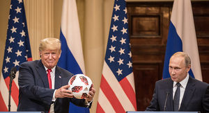 Trump's Secret Service Better Check Putin's Soccer Ball for Bugs