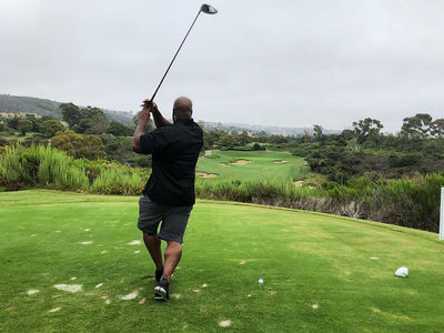 James Harrison Blows 10-Foot Putt with 30-Foot Shot