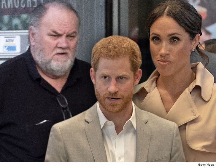 Thomas Markle: I'll fly to United Kingdom  for peace talks with Meghan