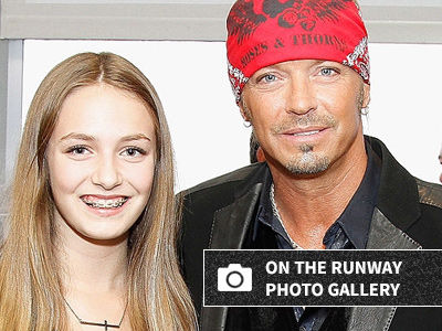 Bret Michaels' Daughter KILLS IT at Sports Illustrated Runway -- Wait'll You See Her NOW!