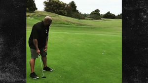 James Harrison Blows 10 Foot Putt with 30 Foot Shot