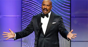 Steve Harvey shocked by crude 'Family Feud' answer