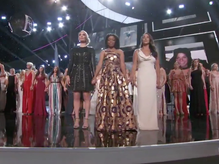 ESPYs honor Larry Nassar survivors, coaches killed in Parkland shooting
