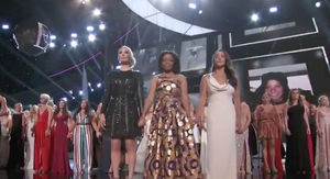 Larry Nassar Survivors Join Hands on Stage at 2018 ESPYs for Courage Award