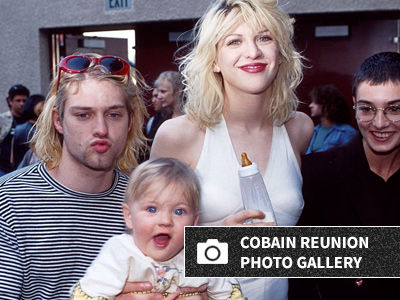 Frances Bean Cobain Has Family Reunion with Kurt's Mom & Sister -- These Photos Are Beautiful!
